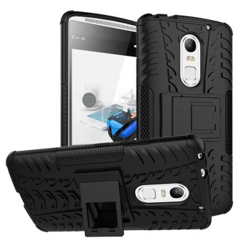 BYT Rugged Dazzle Case for Lenovo Vibe X3 with Kickstand (Black)