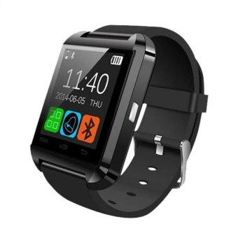 C-001 Bluetooth V3.0 Touch Screen Smart Watch (Black)