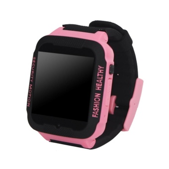 C3 Kids Anti-Lost Smart Watch SOS Phone Call GPS Tracker(Black) -intl