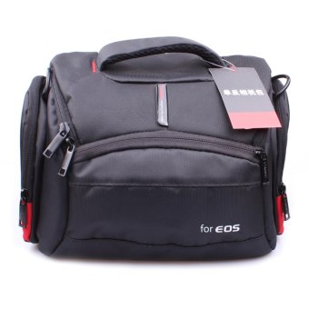 Camera Case Bag for Canon DSLR 700D 100D 650D 600D 60D 6D 5D 7D 70D400D 500D 1100D 550D 1300D 760D 750D(Black) - intl