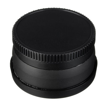 Camera Lens 58MM 0.45x Wide Angle Macro Lens for Canon EOS 350D/ 400D/