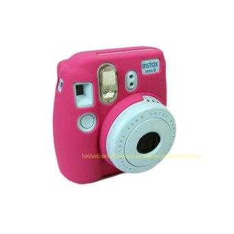 Camera Video Bag PVC silicone case for Fujifilm Instax Mini 8 Fuji Mini-8 - intl - 4