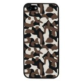 Camouflage Pattern Phone Case for iPhone 5C (Black) - thumbnail 1