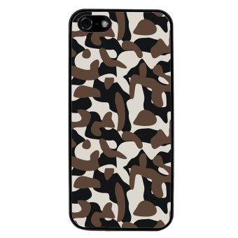 Camouflage Pattern Phone Case for iPhone 5C (Black) product preview, discount at cheapest price