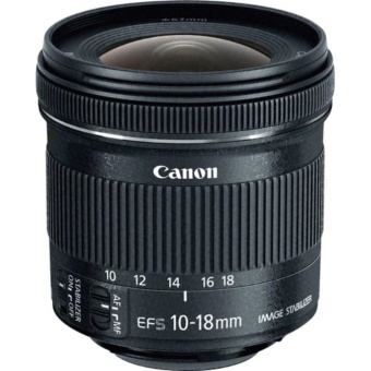 CANON EF-S 10-18mm f/4.5-5.6 IS STM Camera Lens - intl