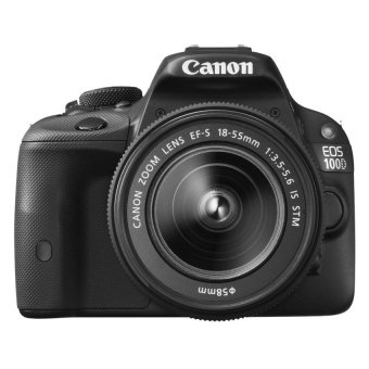 Canon EOS 100D 18MP DSLR with 18-55mm Lens Kit (Black)
