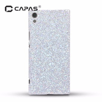 CAPAS Hard PC 3D Carbon Fiber Bling Case for Sony Xperia XA1 UltraDual - intl
