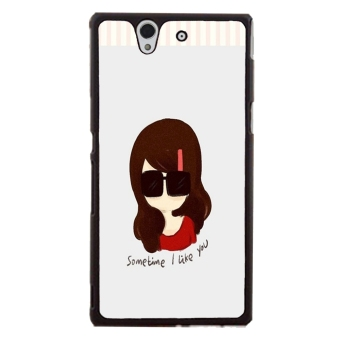 Cartoon Cute Pattern Phone Case for Sony Xperia Z L36H (Multicolor)