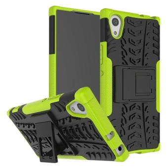 Case for Sony Xperia XA1 Hybrid Combo Shockproof Case Cover (Green)- intl