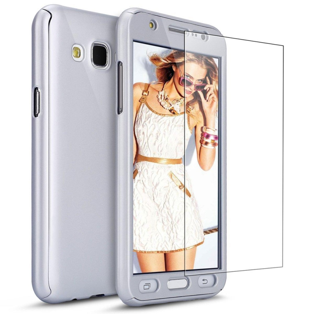 Case with Tempered Glass Screen Protector 360 Full Body CoverageProtective Case Cover Ultra-thin Hybrid