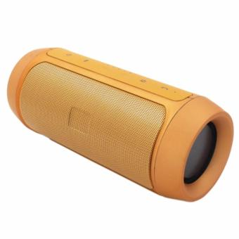 Charge2+ Splashproof Portable Wireless Bluetooth Speaker (gold)