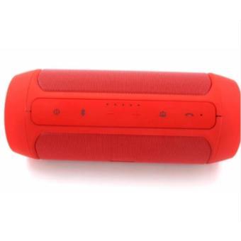 Charge2+ Splashproof Portable Wireless Bluetooth Speaker (Red) - 4