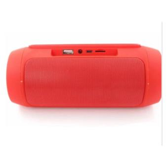 Charge2+ Splashproof Portable Wireless Bluetooth Speaker (Red) - 3