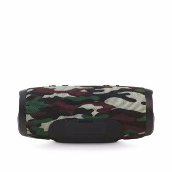 Charge3 Splashproof Portable Wireless Bluetooth Speaker (Green camouflage)