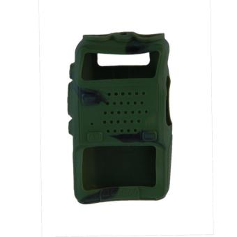 CHEER Rubber Soft Case Cover for Radio BAOFENG UV-5R (Army Green)