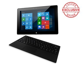 "Cherry Mobile Cubix Morph 2in1 Laptop | 10.1"" | Intel AtomQuadCore| 2GB Ram | 32GB Storage | Windows 10 & Android 5.1.DualOS"