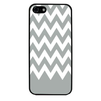Chevron Pattern Phone Case for iPhone 5C (Black)