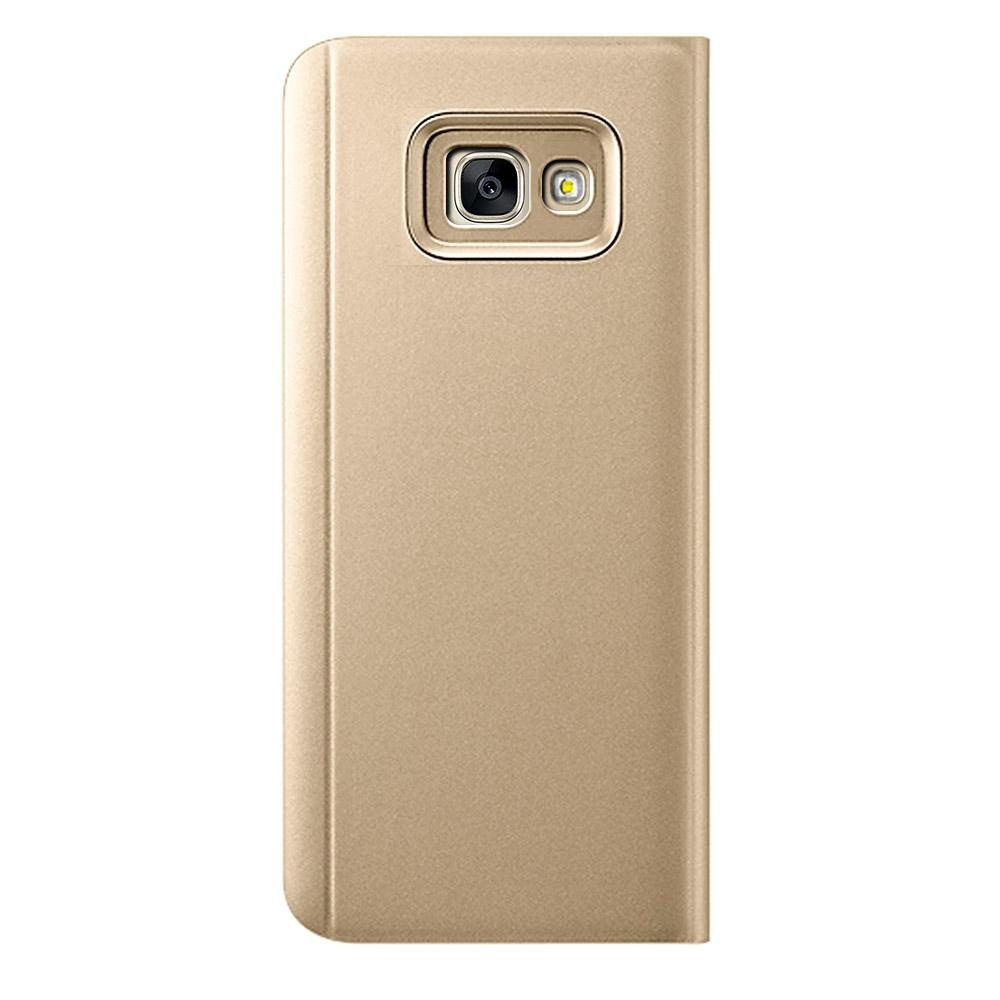 ... Clear View Flip Stand Case Cover For Samsung Galaxy J5 Prime Gold - intl ...