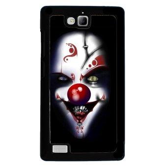 Clown Evil Joker Pattern Phone Case for Huawei Honor 3C (Black)