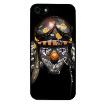Clown Evil Joker Pattern Phone Case for iPhone 4/4S (Black) product preview, discount at cheapest price