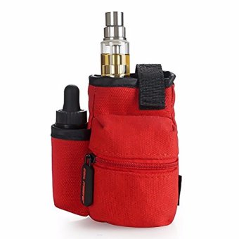 Coil Master Portable Pouch Bag for Electronic Cigarette (Red) - 3
