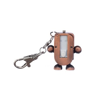 Compass Pocket Watch Robot Flash Drive 16GB (Brass) - picture 2