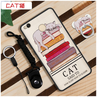 Cool all-inclusive drop-resistant Ring Case phone case