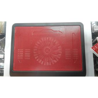 Cooler Single Fan Cooling Pad For Laptops 10 to 14 inches.- Intl