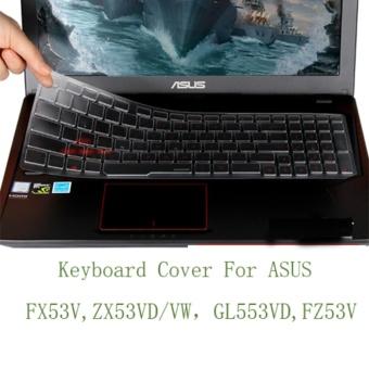 COOSKIN ASUS Transparent Ultrathin TPU Keyboard Cover for FX53V/ZX53VD/VW/GL553VD/FZ53V - intl - 2