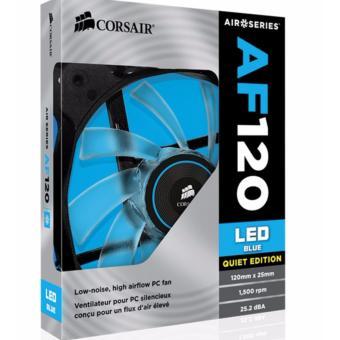 Corsair Air Series AF120 LED Blue Quiet Edition High Airflow 120mmFan - 2