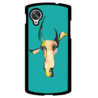 Cow Pattern Phone Case for LG Nexus 5 (Blue)