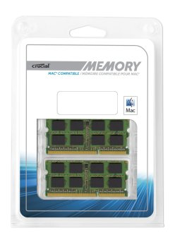 Crucial CT2K8G3S160BM 16GB 1600 DDR3 Mac Compatible Memory 2012 Series - 2