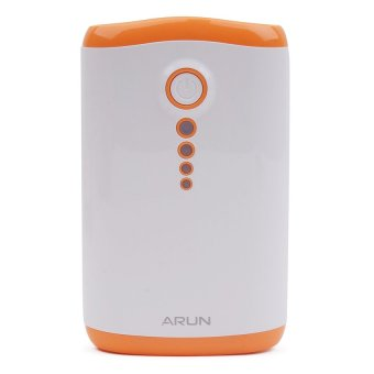 Cutie Y203 8400 mAh Powerbank (White/Orange) - picture 2
