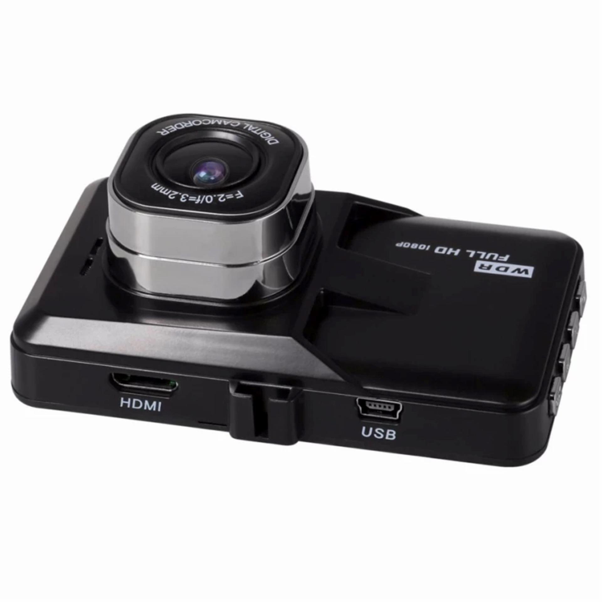 CWL B03 1080p Full HD WDR 170 Degree Digital Car Dash CameraRecorder (Black)
