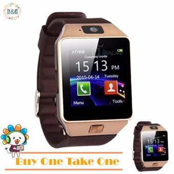 D&D DZ09 Bluetooth Touch Screen Smart Watch with Camera (BUY ONE TAKE ONE)