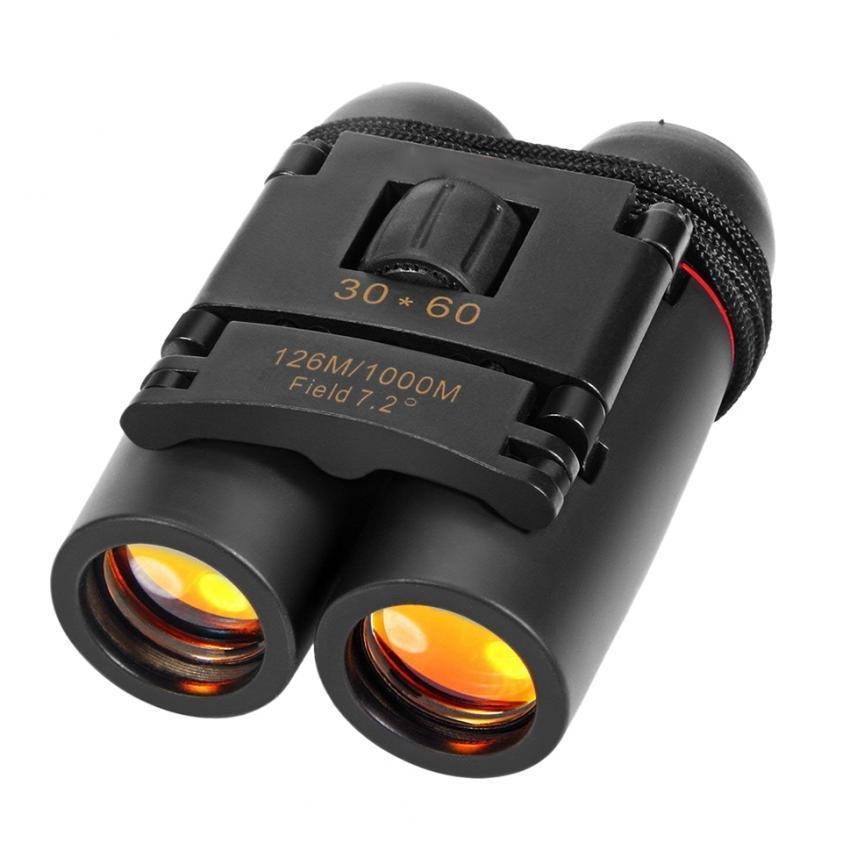 Day Night Vision 30 x 60 Zoom Outdoor Portable Folding Binoculars Telescope