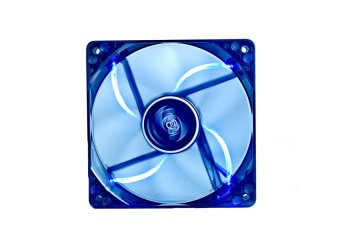 DeepCool Fan Wind Blade 120 Case Fan Hydro 3Pin Molex 26db 1300rpm(Transparent Black Frame/Blue LED)