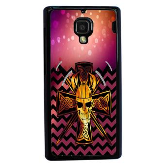 Devil Cross Chevron Pattern Phone Case For Xiaomi Mi4