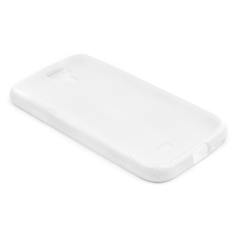 Digibabe Transparent Case for Samsung Galaxy S4/i9500 (White)