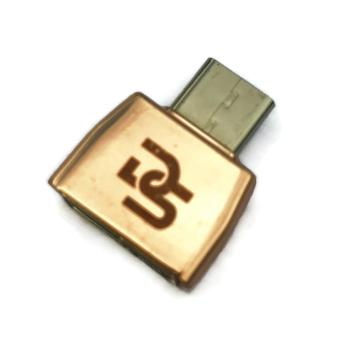 Digistore Type C to USB 3.1 OTG Mini Adapter (Rose Gold) - 2