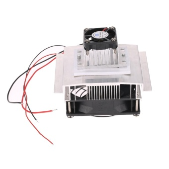 DIY Thermoelectric Peltier Refrigeration Cooling System KitSemiconductor Cooler Conduction Module + Radiator + .