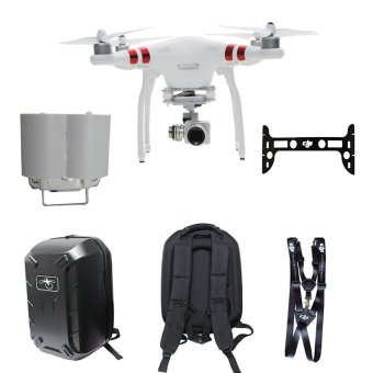 DJI Phantom 3 Standard FPV Drone With 2.7k Hd Camera Gimbal BagShoulder Neck Strap - Intl Price Philippines