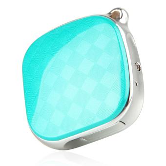 DMDG Wearable Mini Precision GPS Locator Tracker - Blue + Silver - intl - 5