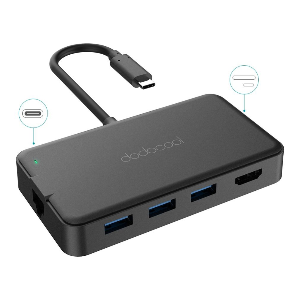 Philippines Dodocool 8 In 1 Multifunction Usb C Hub With Type To Hdmi Adapter Macbook Pro 30 Sdtf Card Power