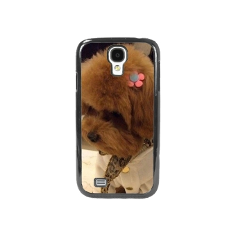 Dog Pattern Phone Case for Samsung Galaxy S4 (Brown)