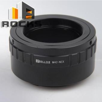 Dollice Lens Adapter Suit For M42 Lens to Sony E Mount NEX Camera -intl