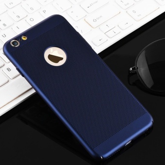 Dotted Heat dissipation case cover for Apple iPhone 6 Plus / 6sPlus(blue) - intl