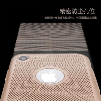 Dotted Heat dissipation case cover for Apple iPhone 6 Plus / 6sPlus(gold) - intl - 5