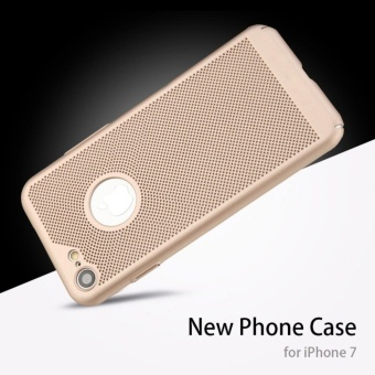 Dotted Heat dissipation case cover for Apple iPhone 6 Plus / 6sPlus(gold) - intl - 4