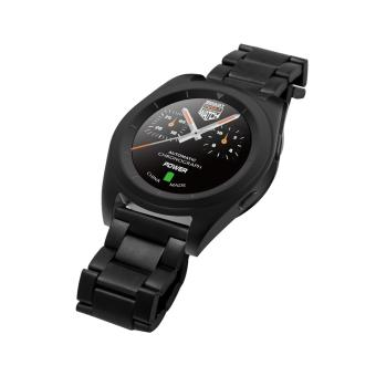 DT G6 Sweatproof Sports and Business Bluetooth Smartwatch withMetal Strap (Black) - 3